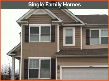 single family homes
